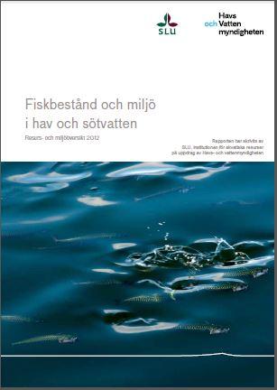 Resurs Och Miljooversikt 2012 Publikationer Havs Och