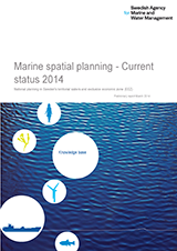 Marine spatial planning current status 2014. Cover image.