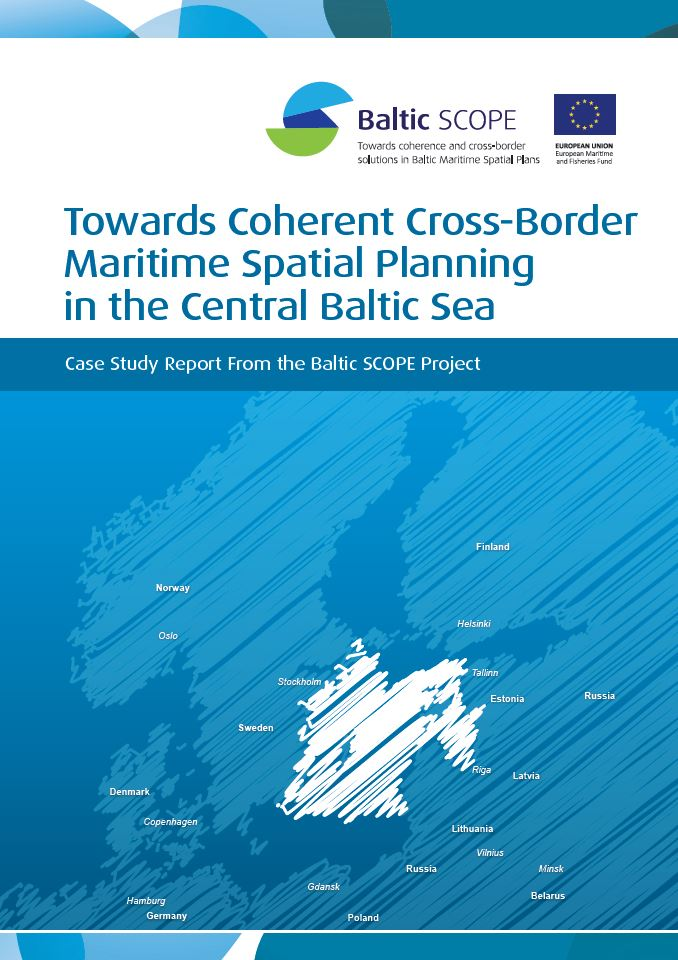 Omslag rapport - Towards coherent cross-border planning