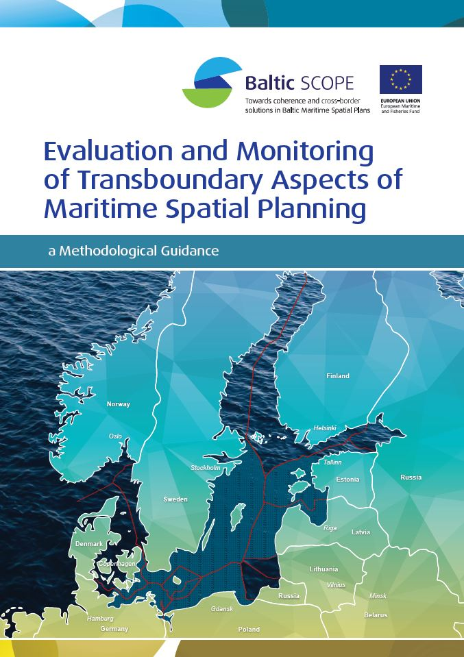 Omslag rapport - Evaluation and Monitoring of Transboundary Aspects