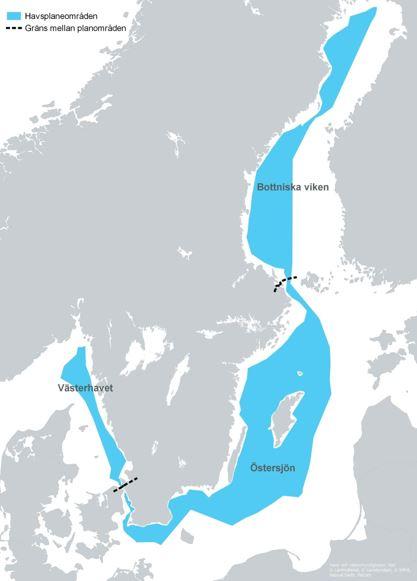 västerhavet karta Detta är havsplanering   Havsplanering   Havs  och vattenmyndigheten västerhavet karta