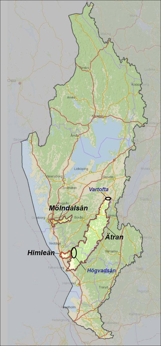 västerhavet karta WaterCoG   samarbete för lokal vattenförvaltning   Internationellt  västerhavet karta