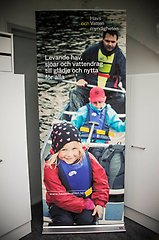 roll-up med vision och kanot