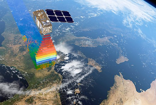 Copernicus data for climate change adaptation. Foto: ESA / ATG medialab